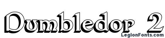 Шрифт Dumbledor 2 3D