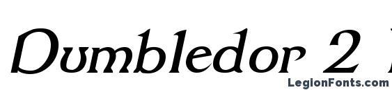 Dumbledor 2 Italic Font