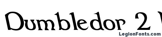 Dumbledor 2 Rev Italic Font