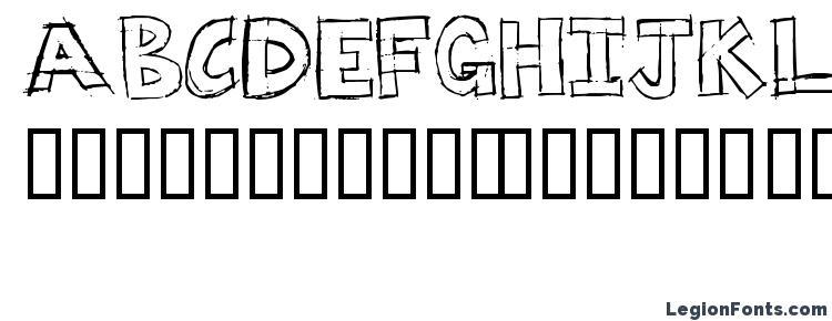 glyphs Dumpster diver font, сharacters Dumpster diver font, symbols Dumpster diver font, character map Dumpster diver font, preview Dumpster diver font, abc Dumpster diver font, Dumpster diver font