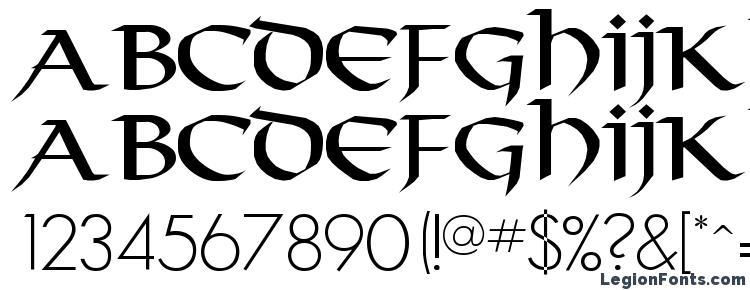 глифы шрифта Durrette, символы шрифта Durrette, символьная карта шрифта Durrette, предварительный просмотр шрифта Durrette, алфавит шрифта Durrette, шрифт Durrette