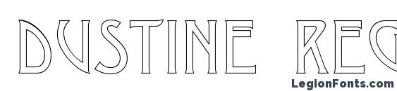Dustine Regular Font
