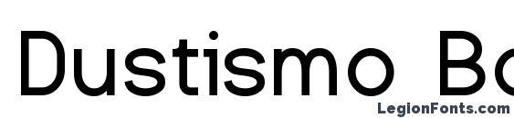 Dustismo Bold Font
