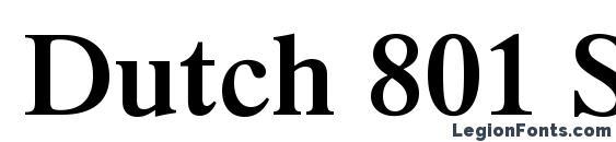 dutch801 rm bt