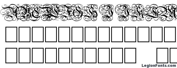 глифы шрифта Dutch Initials Normal, символы шрифта Dutch Initials Normal, символьная карта шрифта Dutch Initials Normal, предварительный просмотр шрифта Dutch Initials Normal, алфавит шрифта Dutch Initials Normal, шрифт Dutch Initials Normal