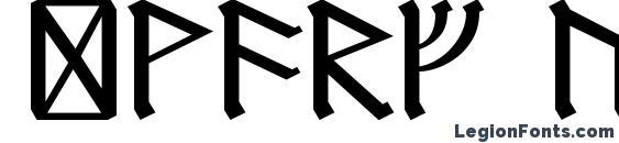 Шрифт Dwarf Runes