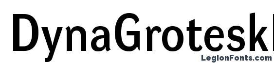 DynaGroteskD Font, Typography Fonts