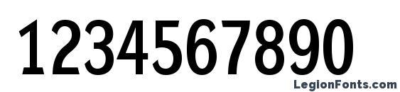 DynaGroteskLM Bold Font, Number Fonts