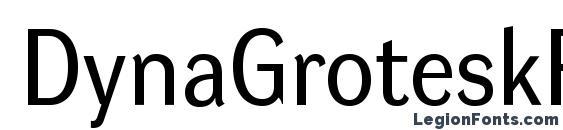 DynaGroteskR Font