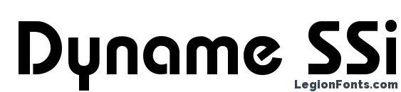 Dyname SSi Semi Bold Font