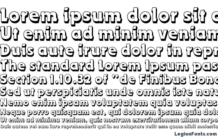 specimens Dynamo Shadow LET Plain.1.0 font, sample Dynamo Shadow LET Plain.1.0 font, an example of writing Dynamo Shadow LET Plain.1.0 font, review Dynamo Shadow LET Plain.1.0 font, preview Dynamo Shadow LET Plain.1.0 font, Dynamo Shadow LET Plain.1.0 font