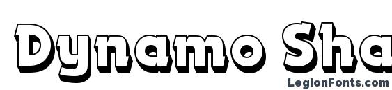 Dynamo Shadow LET Plain.1.0 Font