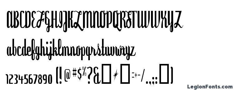 глифы шрифта Dyspepsia, символы шрифта Dyspepsia, символьная карта шрифта Dyspepsia, предварительный просмотр шрифта Dyspepsia, алфавит шрифта Dyspepsia, шрифт Dyspepsia