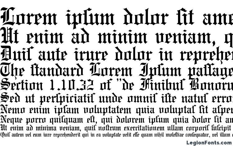 specimens E780 Blackletter Regular font, sample E780 Blackletter Regular font, an example of writing E780 Blackletter Regular font, review E780 Blackletter Regular font, preview E780 Blackletter Regular font, E780 Blackletter Regular font