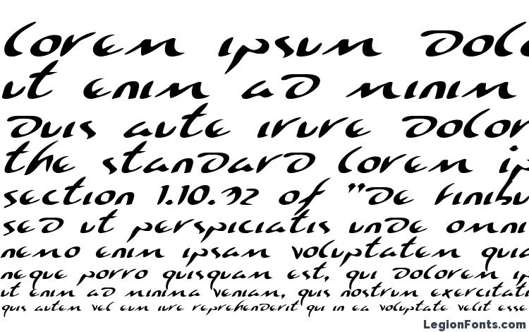 specimens Eagleclaw Expanded Italic font, sample Eagleclaw Expanded Italic font, an example of writing Eagleclaw Expanded Italic font, review Eagleclaw Expanded Italic font, preview Eagleclaw Expanded Italic font, Eagleclaw Expanded Italic font