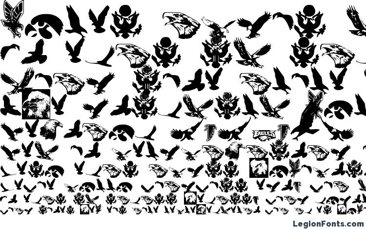 specimens Eaglemania font, sample Eaglemania font, an example of writing Eaglemania font, review Eaglemania font, preview Eaglemania font, Eaglemania font