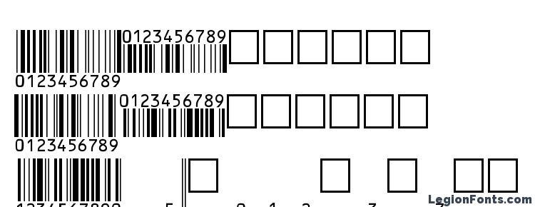 глифы шрифта EanBwrP36Tt, символы шрифта EanBwrP36Tt, символьная карта шрифта EanBwrP36Tt, предварительный просмотр шрифта EanBwrP36Tt, алфавит шрифта EanBwrP36Tt, шрифт EanBwrP36Tt