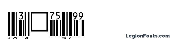 шрифт EanBwrP36Tt, бесплатный шрифт EanBwrP36Tt, предварительный просмотр шрифта EanBwrP36Tt