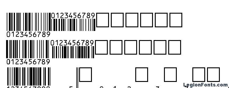 глифы шрифта EanP36Tt, символы шрифта EanP36Tt, символьная карта шрифта EanP36Tt, предварительный просмотр шрифта EanP36Tt, алфавит шрифта EanP36Tt, шрифт EanP36Tt