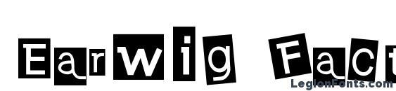 Earwig Factory Font