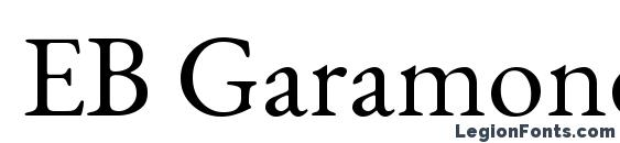 EB Garamond Font Download Free / LegionFonts
