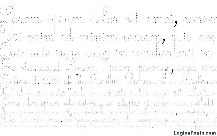 specimens Ecolier pointillés font, sample Ecolier pointillés font, an example of writing Ecolier pointillés font, review Ecolier pointillés font, preview Ecolier pointillés font, Ecolier pointillés font