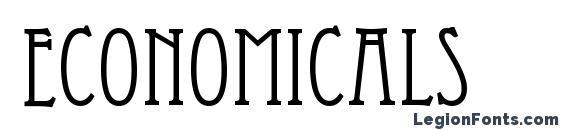 Шрифт Economicals