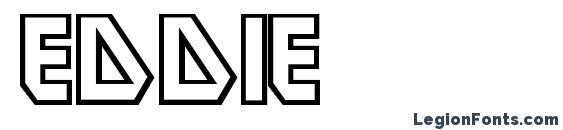 Шрифт Eddie