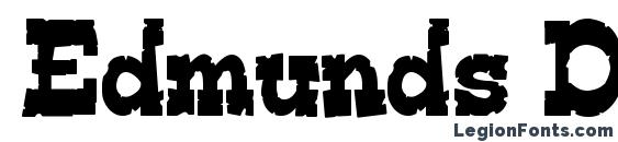 Edmunds Distressed Font