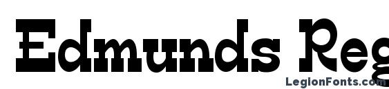 Edmunds Regular Font
