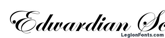 Edwardian Scr Alt ITC TT Bold Font, Medieval Fonts