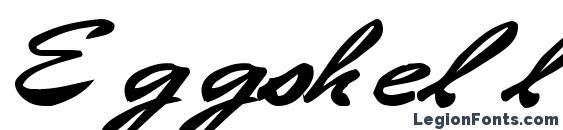 шрифт Eggshell61 bold, бесплатный шрифт Eggshell61 bold, предварительный просмотр шрифта Eggshell61 bold