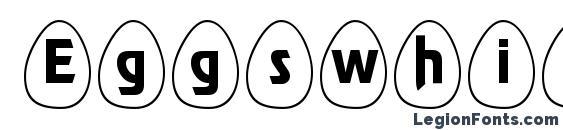 Eggswhite becker Font