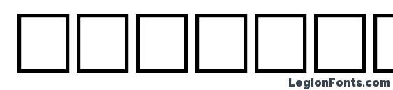 Egyptoheavy regular Font