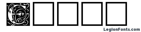 шрифт Eicap, бесплатный шрифт Eicap, предварительный просмотр шрифта Eicap