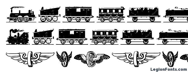 glyphs Eisenbahn font, сharacters Eisenbahn font, symbols Eisenbahn font, character map Eisenbahn font, preview Eisenbahn font, abc Eisenbahn font, Eisenbahn font