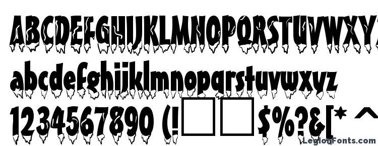 глифы шрифта Eiszapfen normal, символы шрифта Eiszapfen normal, символьная карта шрифта Eiszapfen normal, предварительный просмотр шрифта Eiszapfen normal, алфавит шрифта Eiszapfen normal, шрифт Eiszapfen normal