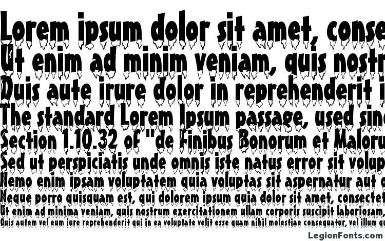 specimens Eiszapfen normal font, sample Eiszapfen normal font, an example of writing Eiszapfen normal font, review Eiszapfen normal font, preview Eiszapfen normal font, Eiszapfen normal font