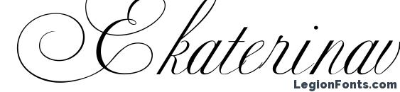 шрифт Ekaterinavelikayaone, бесплатный шрифт Ekaterinavelikayaone, предварительный просмотр шрифта Ekaterinavelikayaone