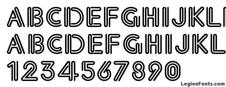 eklektic font