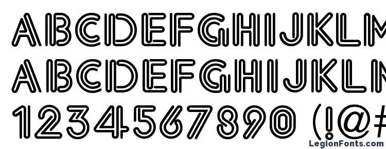 glyphs Eklektic Normal font, сharacters Eklektic Normal font, symbols Eklektic Normal font, character map Eklektic Normal font, preview Eklektic Normal font, abc Eklektic Normal font, Eklektic Normal font
