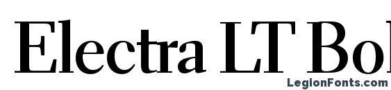 Electra LT Bold Display Font