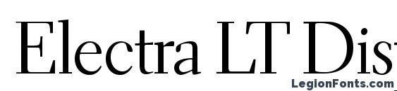 Electra LT Display Font