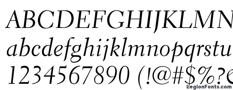 Glyphs ElectraLTStd Cursive Font Haracters Symbols Character