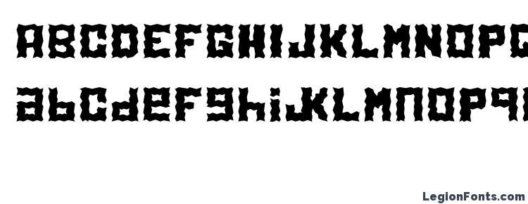 глифы шрифта Electrol, символы шрифта Electrol, символьная карта шрифта Electrol, предварительный просмотр шрифта Electrol, алфавит шрифта Electrol, шрифт Electrol