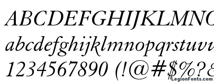 glyphs Elegant Garamond Italic BT font, сharacters Elegant Garamond Italic BT font, symbols Elegant Garamond Italic BT font, character map Elegant Garamond Italic BT font, preview Elegant Garamond Italic BT font, abc Elegant Garamond Italic BT font, Elegant Garamond Italic BT font