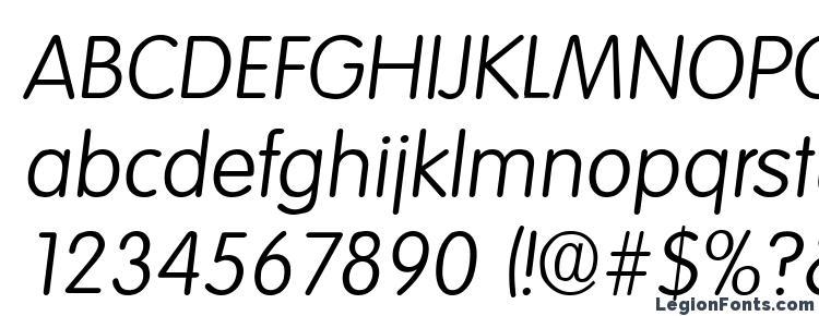 glyphs Elementary SF Italic font, сharacters Elementary SF Italic font, symbols Elementary SF Italic font, character map Elementary SF Italic font, preview Elementary SF Italic font, abc Elementary SF Italic font, Elementary SF Italic font