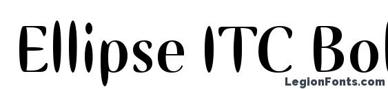 Шрифт Ellipse ITC Bold