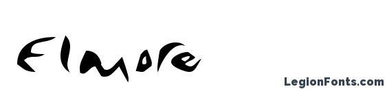 Шрифт Elmore