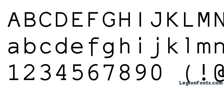 Elronet monospace Font Download Free / LegionFonts